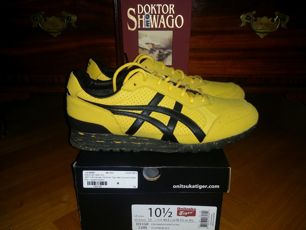 Onitsuka Tiger BAIT Bruce Lee Edition 75th Anniversary Collection US