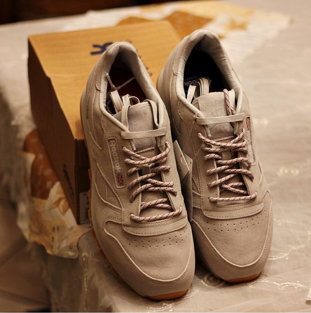 ... Sneaker Freaker Reebok Classic Leather x Kendrick Lamar US 10 - photo  2 8 ... c5e5b9b1d