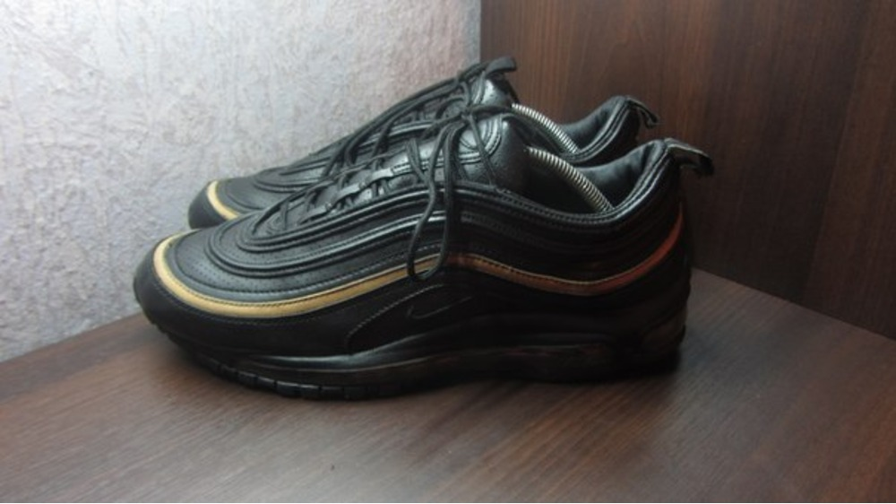 Women's Gold Cheap Nike Air Max 97 Ultra Life Style Sports