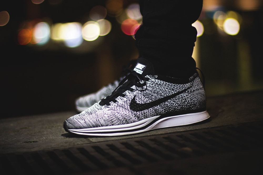 2015 nike oreo flyknit racer on feet muslim heritage. Black Bedroom Furniture Sets. Home Design Ideas