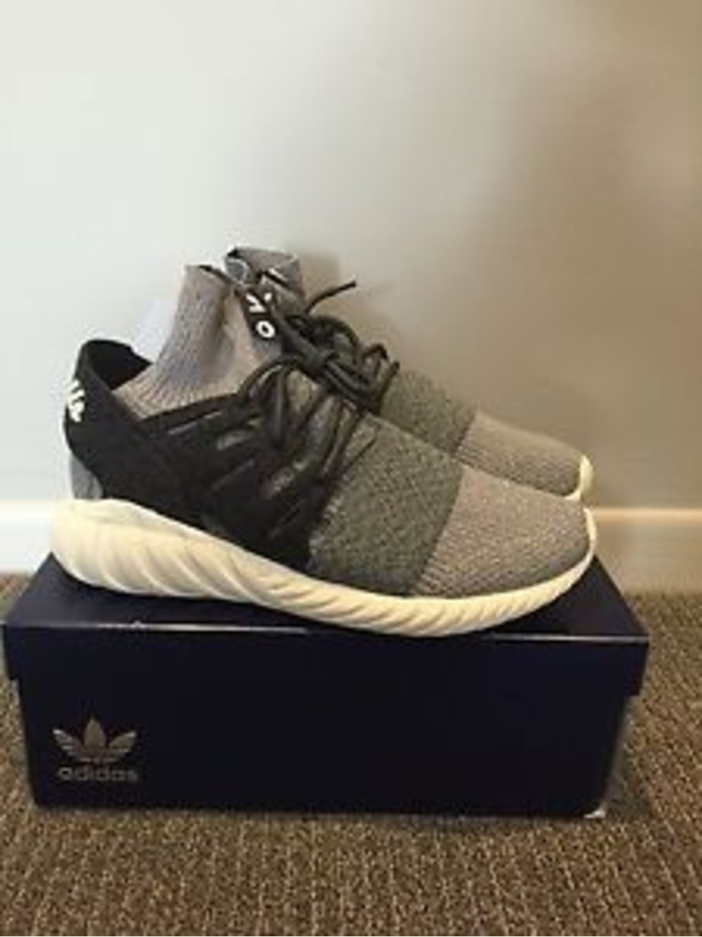 Adidas Originals Tubular Runner Toddler Shoes Sz 6k Black White 6