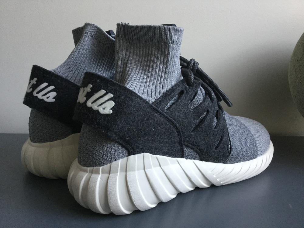Adidas Tubular Doom Soc Grey Primeknit Spazio Libero