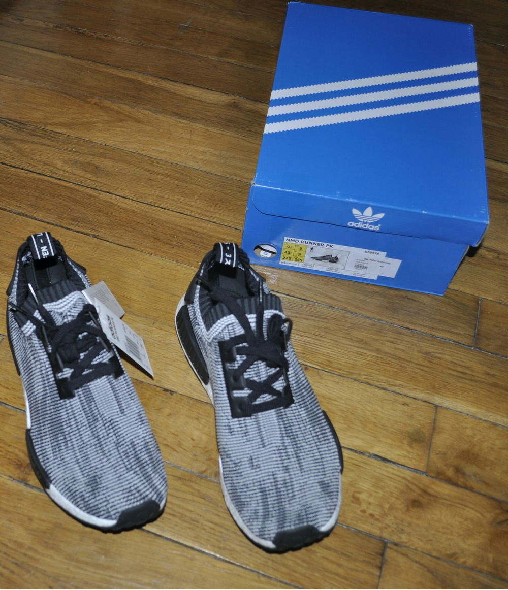 Cheap Adidas ORIGINALS x WHITE MOUNTAINEERING NMD R2 PK