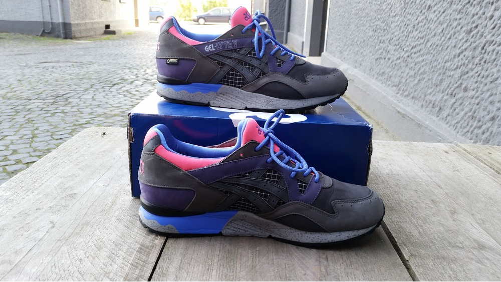 packer shoes x gore tex® x asics gel-lyte v
