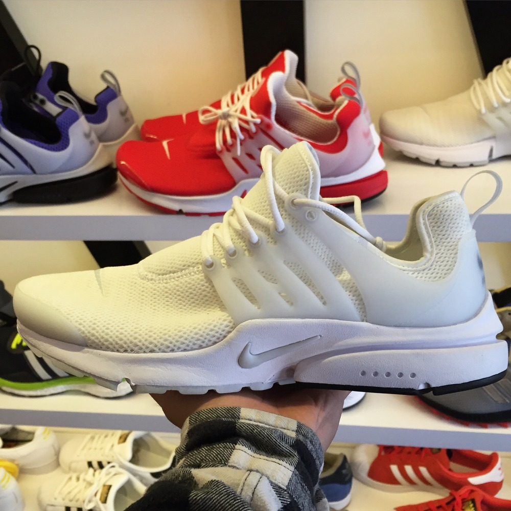 Nike Air Presto All White