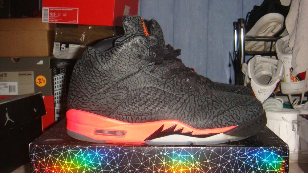 Jordan 3lab5 black infrared