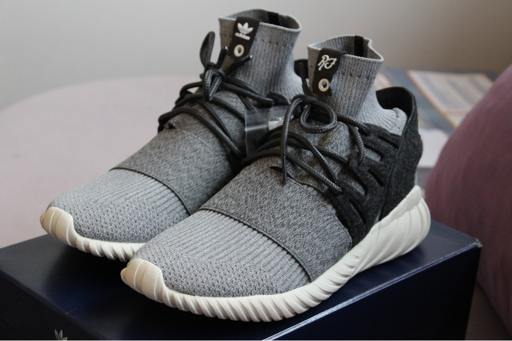 Adidas Tubular Doom PK (Core Black & Night Grey) End