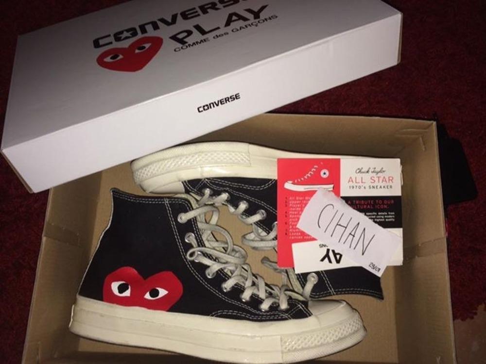 cdg converse box