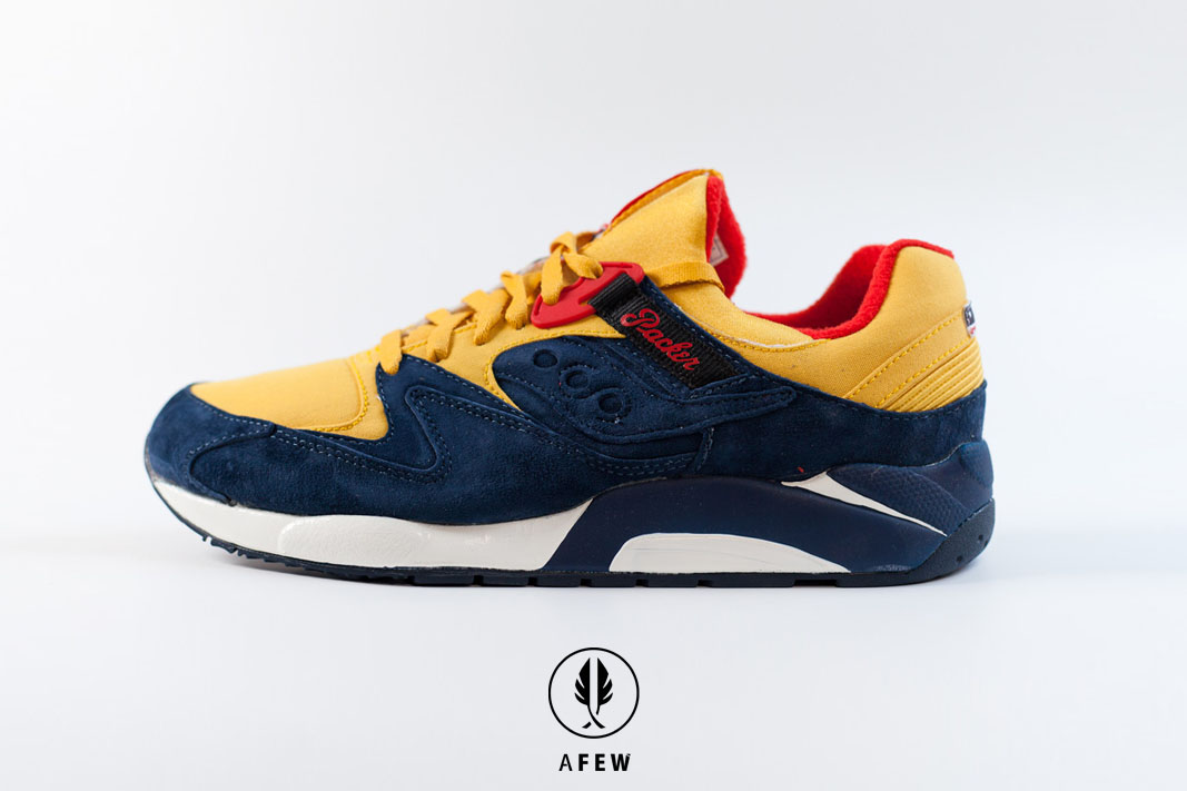 Just Blaze x Packer x Saucony N.9000 –