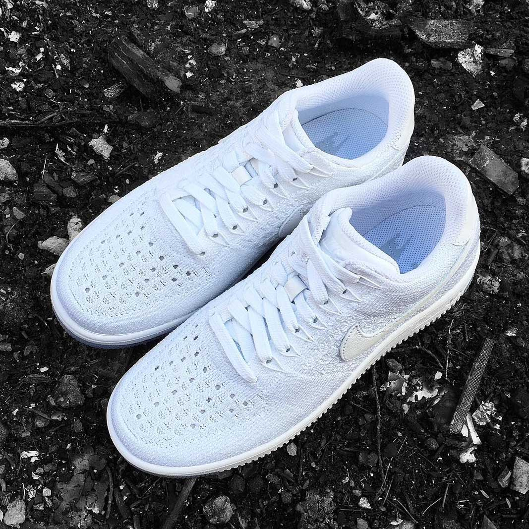 Air Force 1 Low Flyknit White