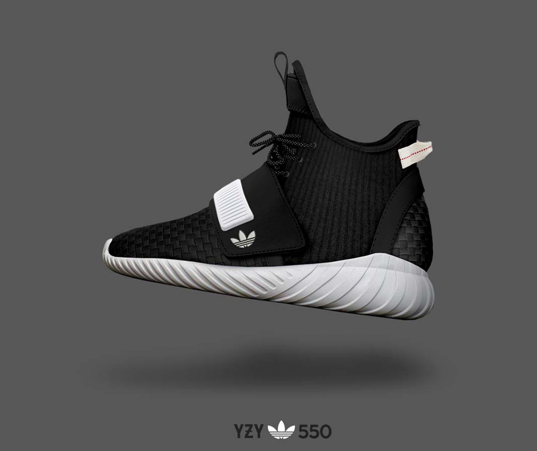 Adidas YEEZY BOOST 550 Concept Images