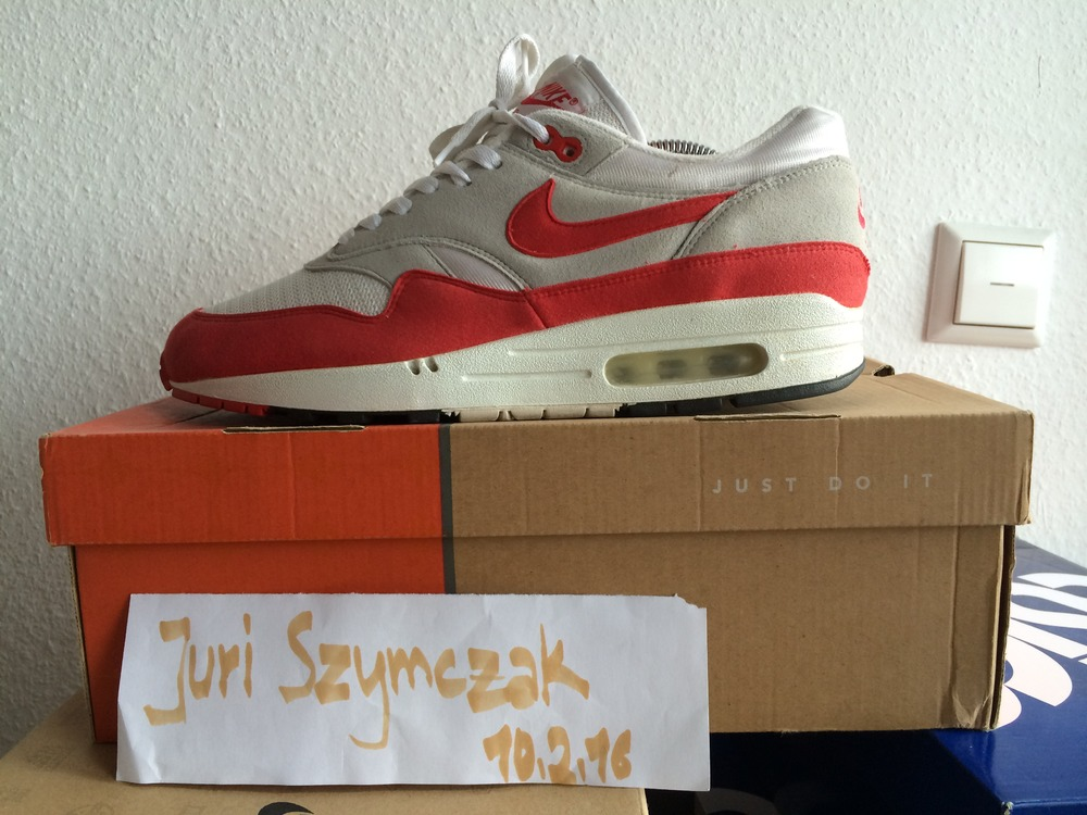 Nike Air Max 1 HOA US 9,5 - photo 1/1