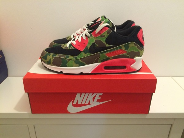 buy nike air max 90 duck camo