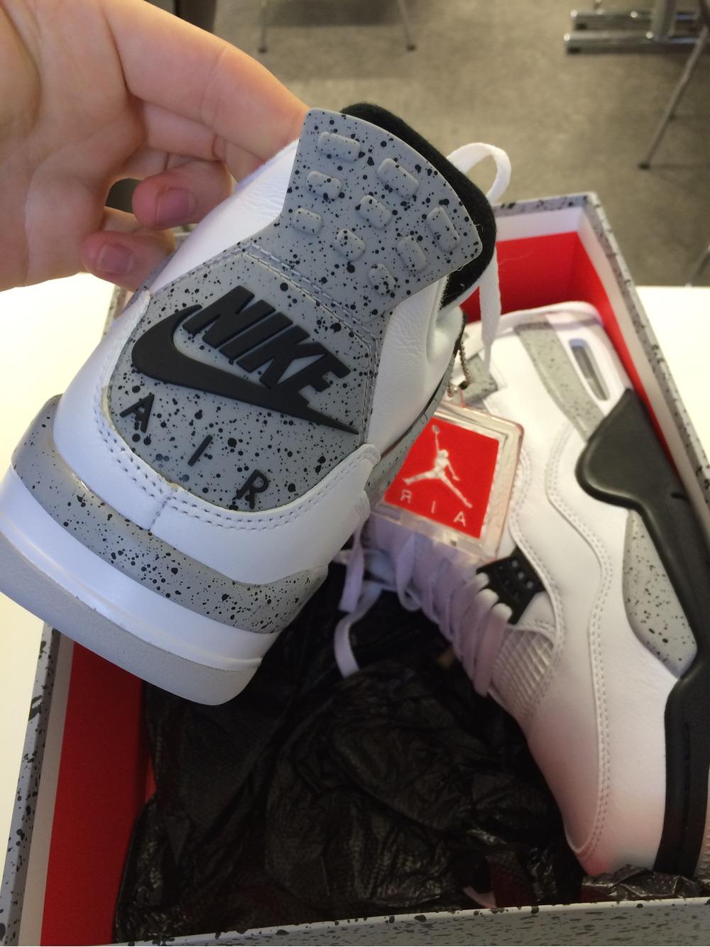 Nike Air Jordan 4 White Cement Us 10 - photo 2/3
