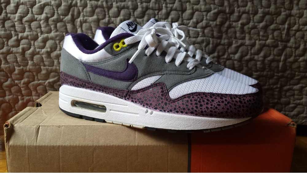 "nike air max Hyperfuse nero - Nike Air Max 1 ""Safari purple"" mesh '09 patta atmos (#298295) from ..."