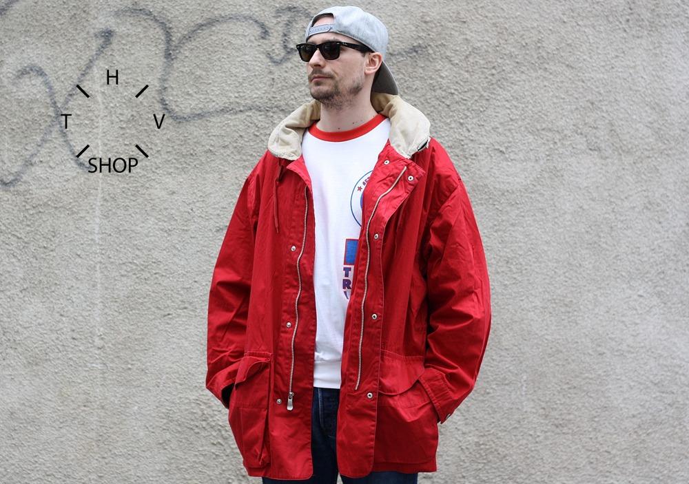 vintage jacket coat windbreaker polo