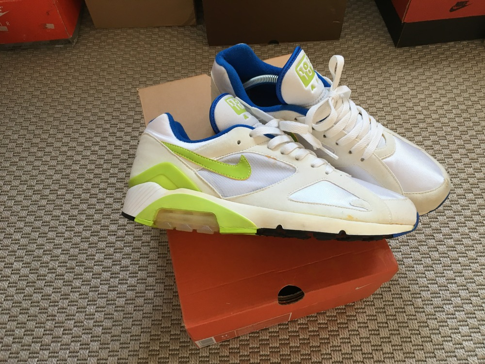 quality design 7bad0 68731 ... Nike Air Max 180 WMNS Hot Lime VNDS - photo 34