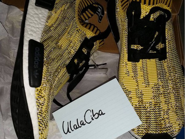 Adidas NMD Runner PK boost Yellow , Yeezy US 9,5 / UK 9 / 43 1/3 - photo 1/3