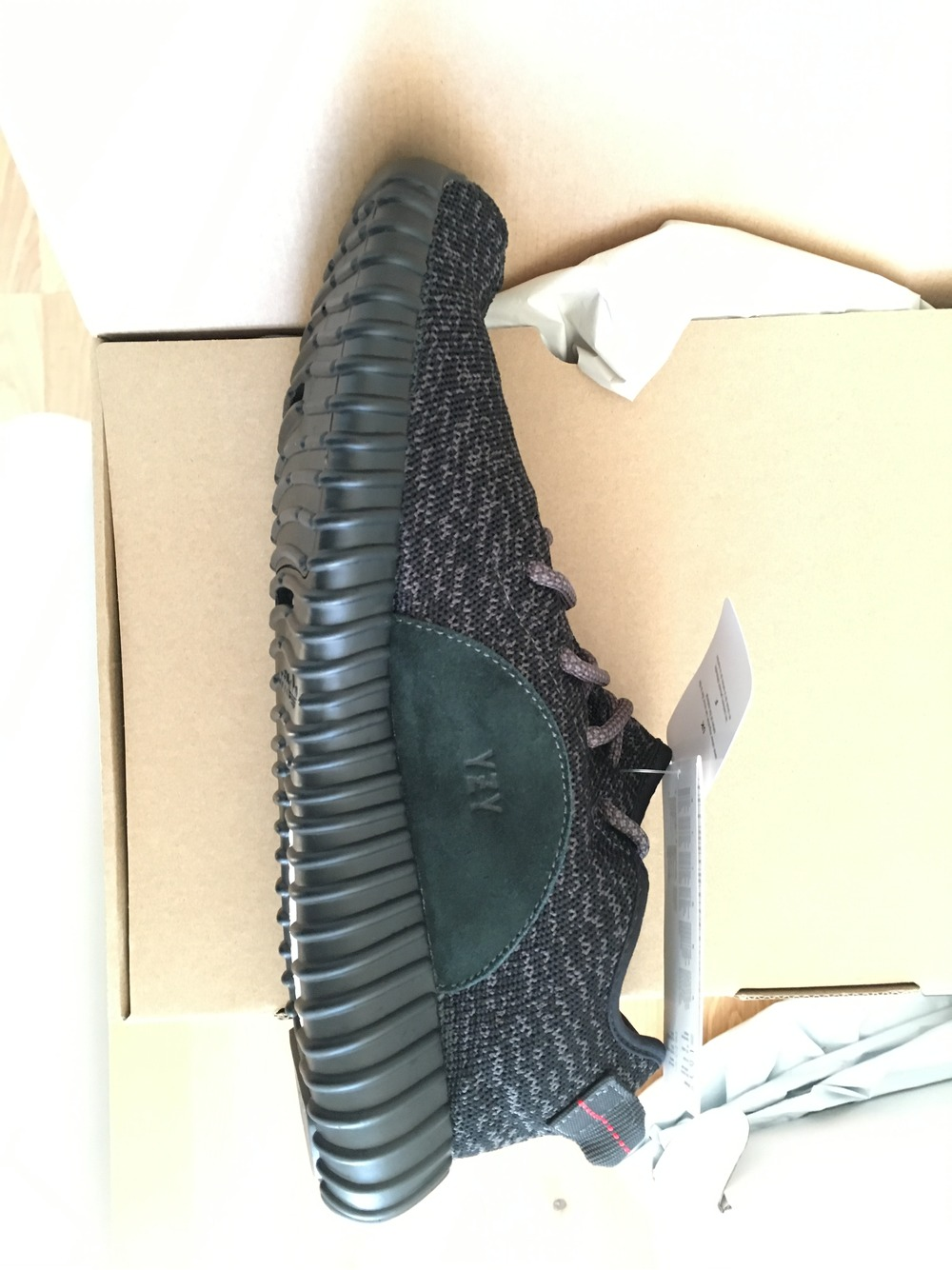 2016 Kanye West Yzy 350 Boost Pirate Black Sneaker 1:1 Quality