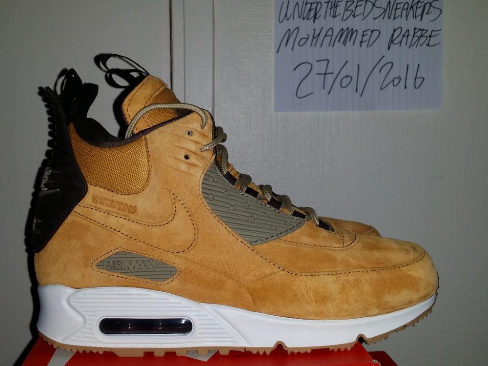 Nike Air Max 90 Sneakerboot Wheat