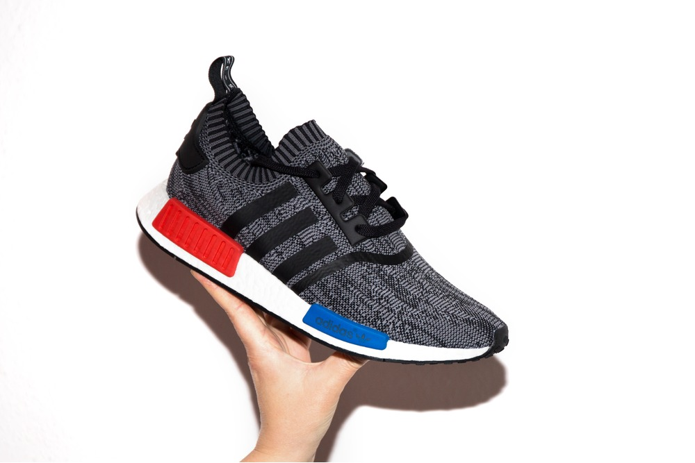 "The shoe even reads ""Family"" on the right shoe and ""Friends"" on the left, suggesting none other than family and friends will receive a pair. Although these look to be a F&F only release, you can expect a bunch more colorways of the Pharrell x adidas NMD Hu collection to be releasing to the public soon, including orange, red and green."