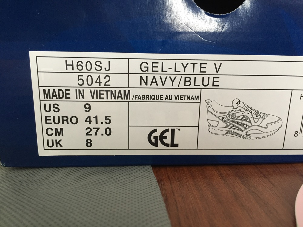 cheaper 8fd16 dde69 asics gel lyte 5 sizing