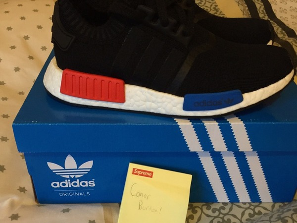 Adidas NMD OG Runner PK Core Black UK6 US6.5 - photo 1/5