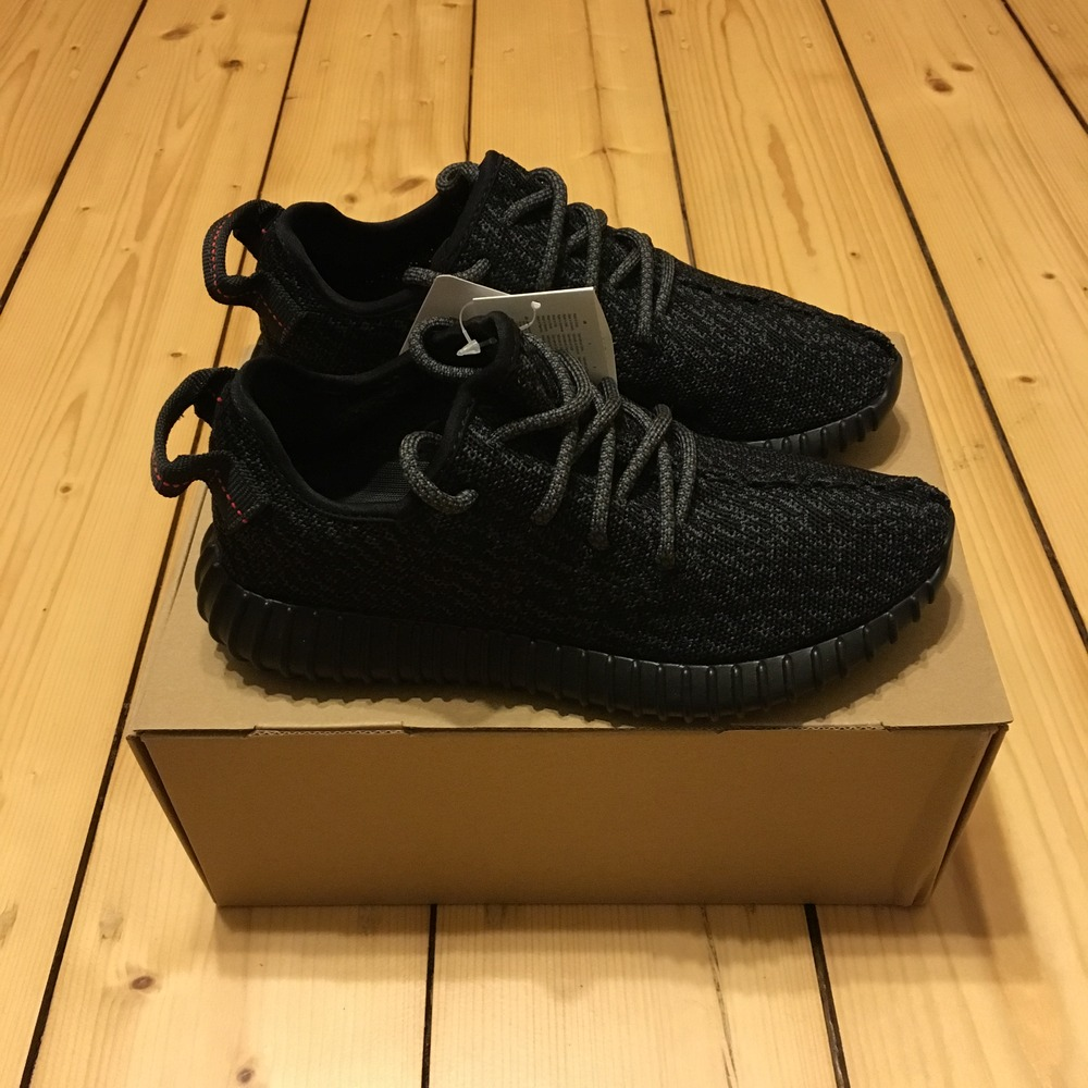 buy online 76efd c27e3 Adidas Yeezy Boost 350 Pirate Black US 5 EU 37 BB5350 2.0 Kanye ...