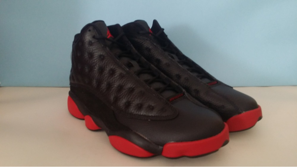 d6525008f6a ... XI Blacked Out Bred from Noldo Customs and Air Jordan XIII (13) DIRTY  BRED sz 8.59.510 ...