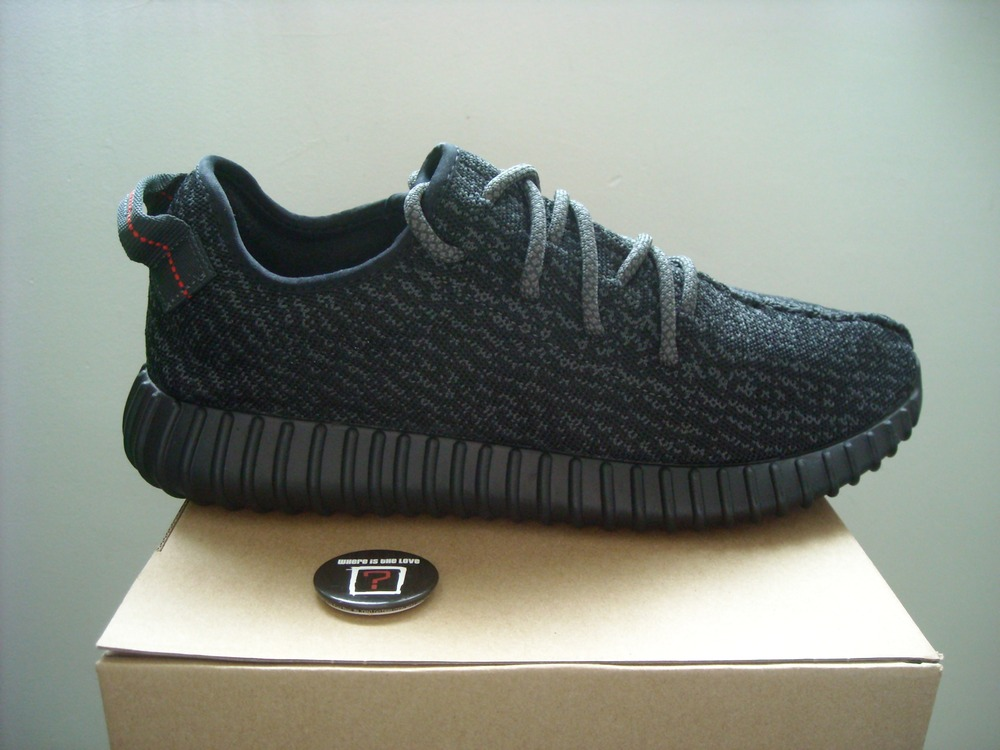 new styles 25e1b 963ad Adidas yeezy boost 350 pirate black 11us (bb5350) ...