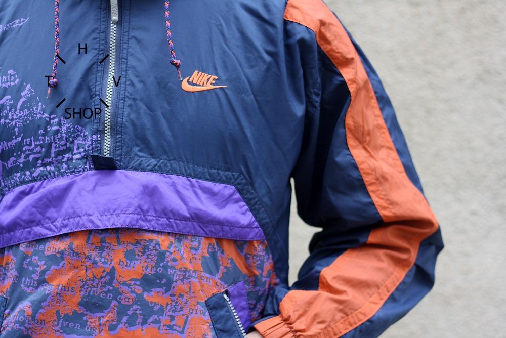Vintage Nike Windbreaker Rain Jacket Track Top Unisex Hot