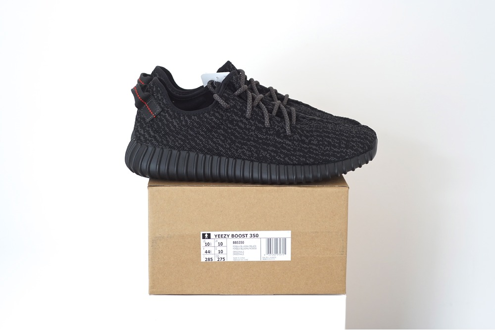 a6c47d730f06a Adidas Yeezy Boost 350 Pirate Black US 6