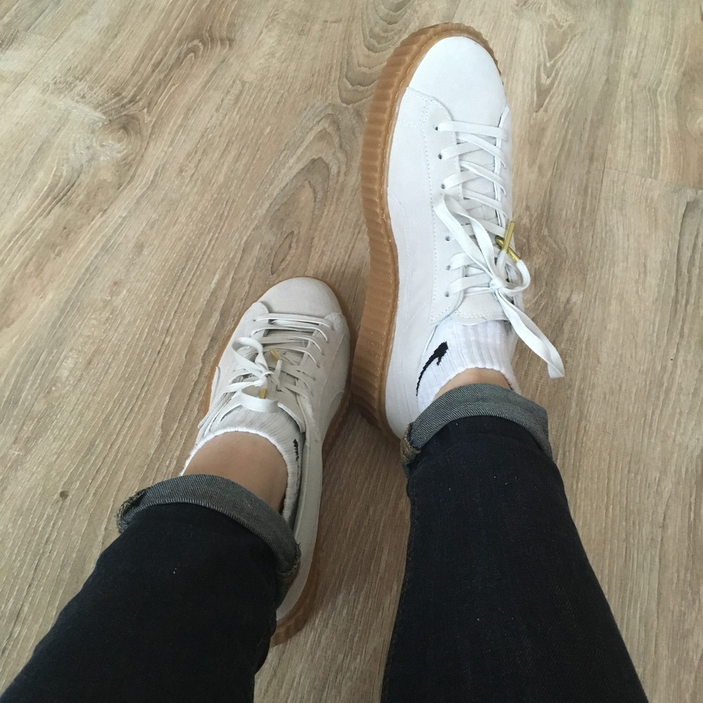 online retailer 1fef5 789f1 ... Puma Creepers White Oatmeal ...