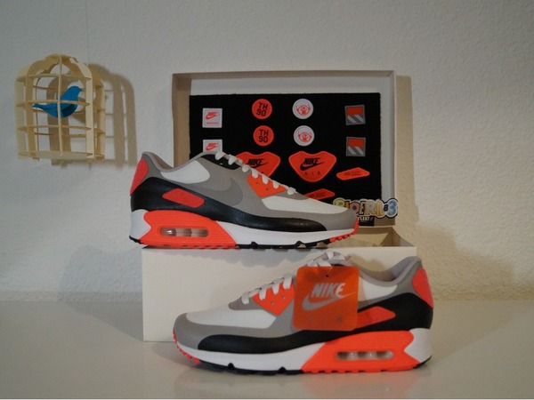 Nike AIR MAX 90 V SP PATCH INFRARED AIR MAX 90 V SP PATCH INFRARED - photo 1/5