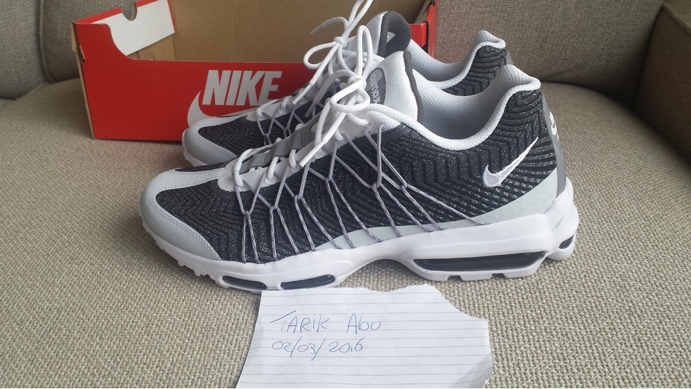 size 40 ef010 085d8 ... wholesale nike air max 95 ultra jacquard grey 6092a b9acd