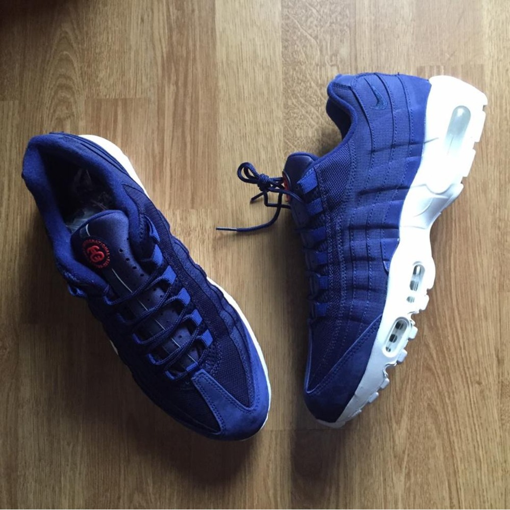 outlet store 0e9d4 1725e Nike Air Max 95 Stussy Blue