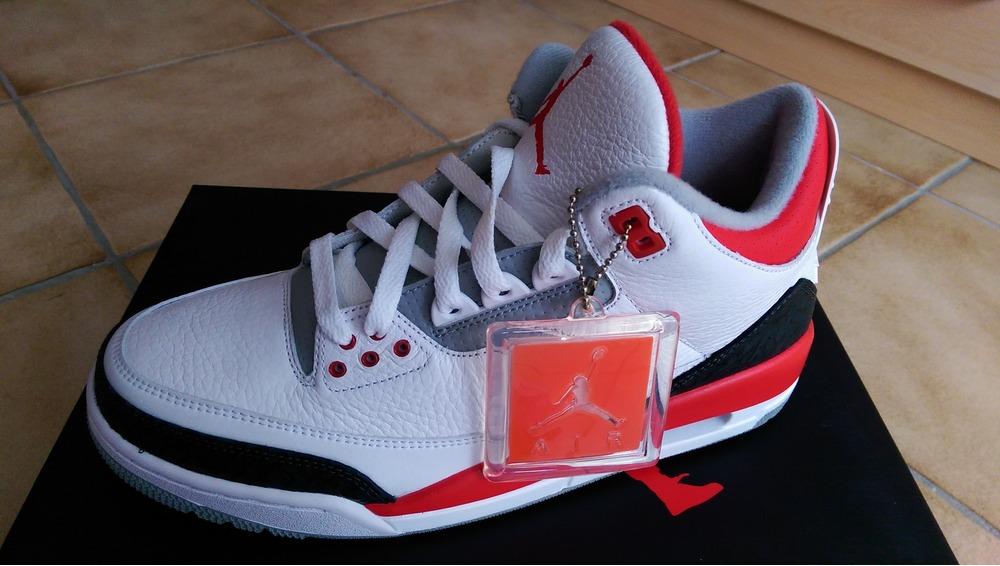 nike blazers - Nike Air Jordan 3 Fire Red 2016