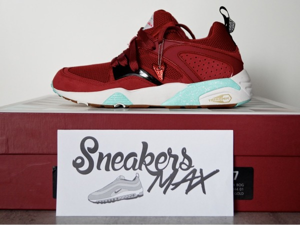 Puma Blaze Of Glory x Sneaker Freaker x Packer <strong>Bloodbath</strong> 8US DS - photo 1/6