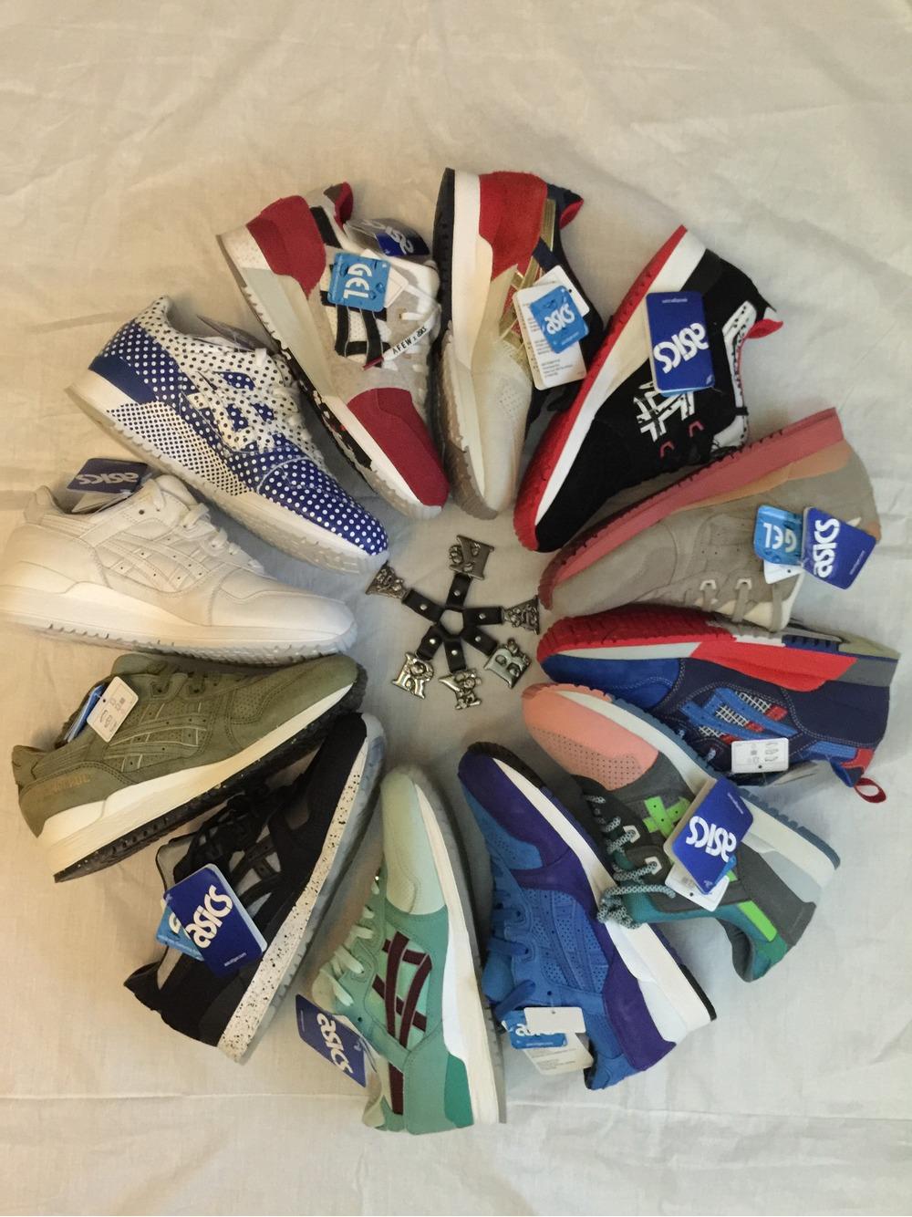 Mita x Asics Gel Kayano Trainer Trico : Sneakers