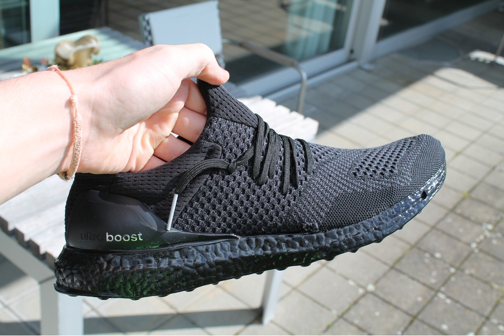 Triple Black adidas Ultra Boost Uncaged BA7996 Sneaker Bar
