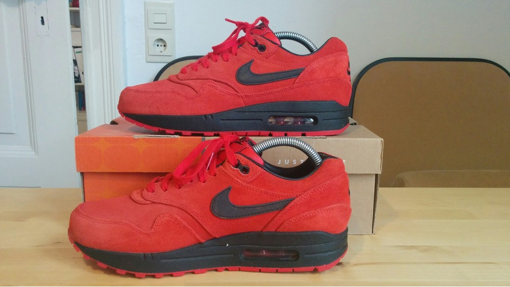premium selection 64d22 d7f07 ... Nike Air Max 1 Pimento 512033-610 US 7,5 UK 6,5 ...