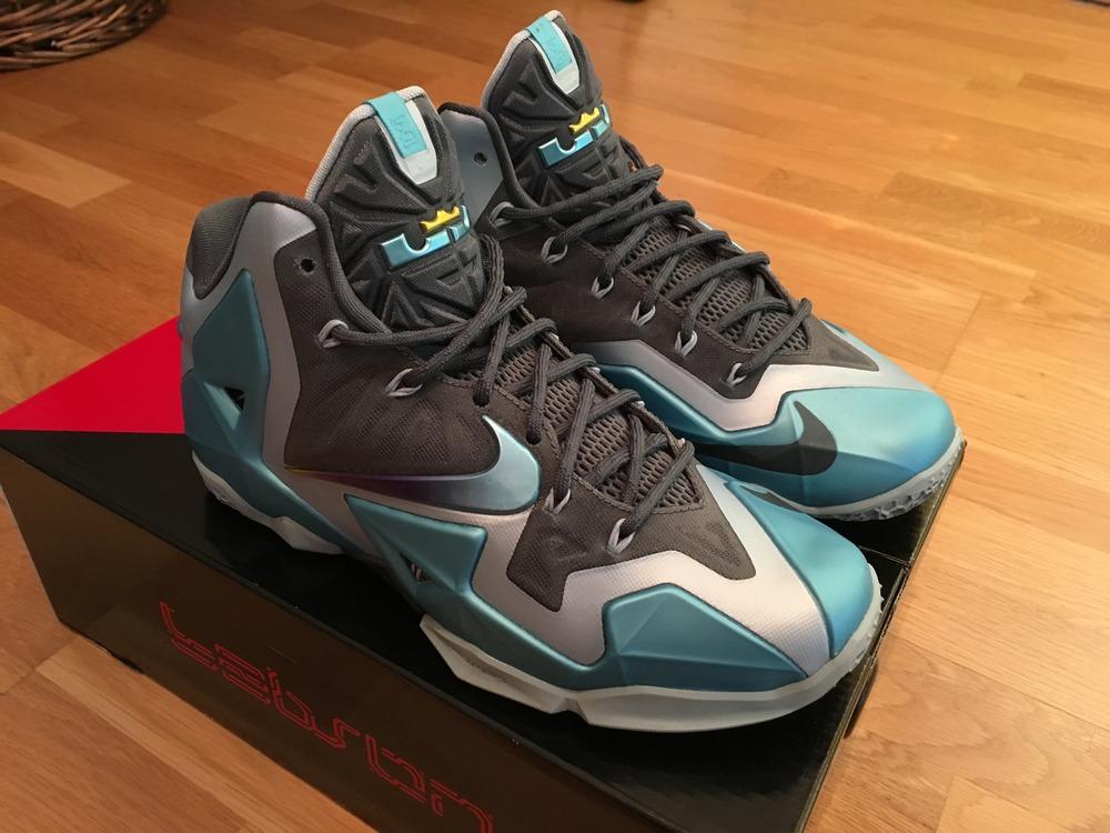 reputable site 3658c 2c7ed Nike Lebron 11 (XI) - quotARMORY SLATE GAMMA BLUEquot .