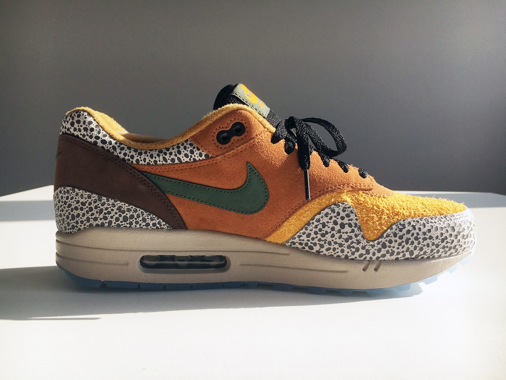 NIKE Air Max 1 'what the Safari' size Exclusive US 11/EUR 45/UK 10 Deadstock