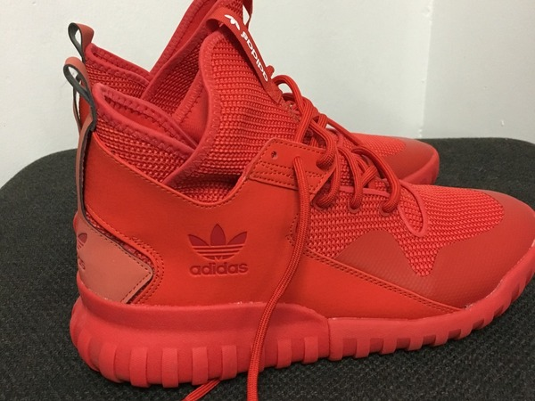 Adidas Tubular X Knit Red