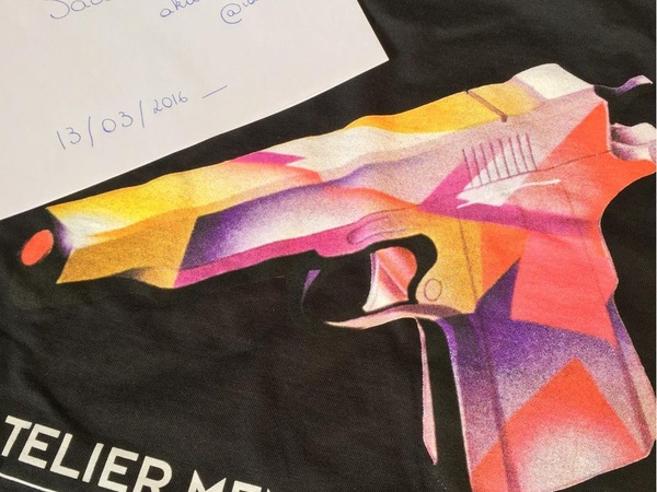 Tee Supreme Mendini Black sz M - photo 1/1