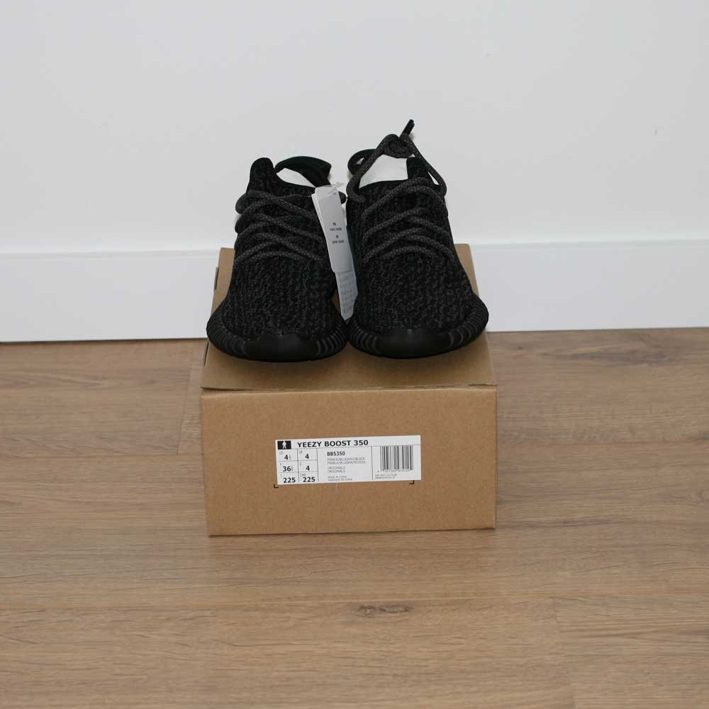 online retailer c054c 7ea91 Adidas Yeezy boost 350 pirate black 2.0 BB5350 US 4.5 - photo 4 ...