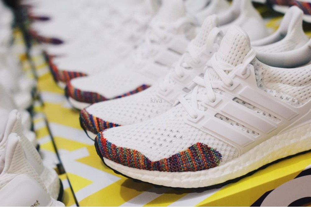 Adidas Shoes White Ultra Boost