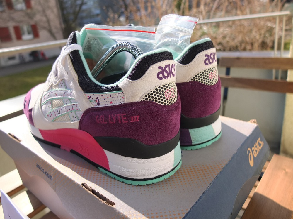 new concept 0ca30 3951d sold out x asics gel lytte ii