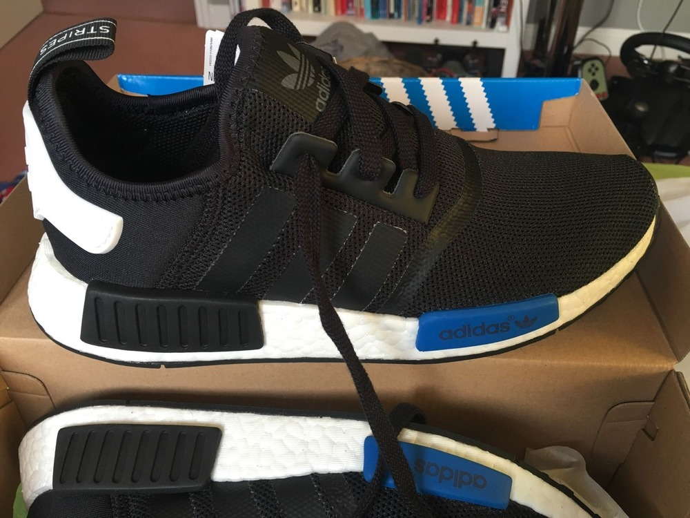 e6b6992e002c4 Adidas Nmd Runner Black And Blue kenmore-cleaning.co.uk