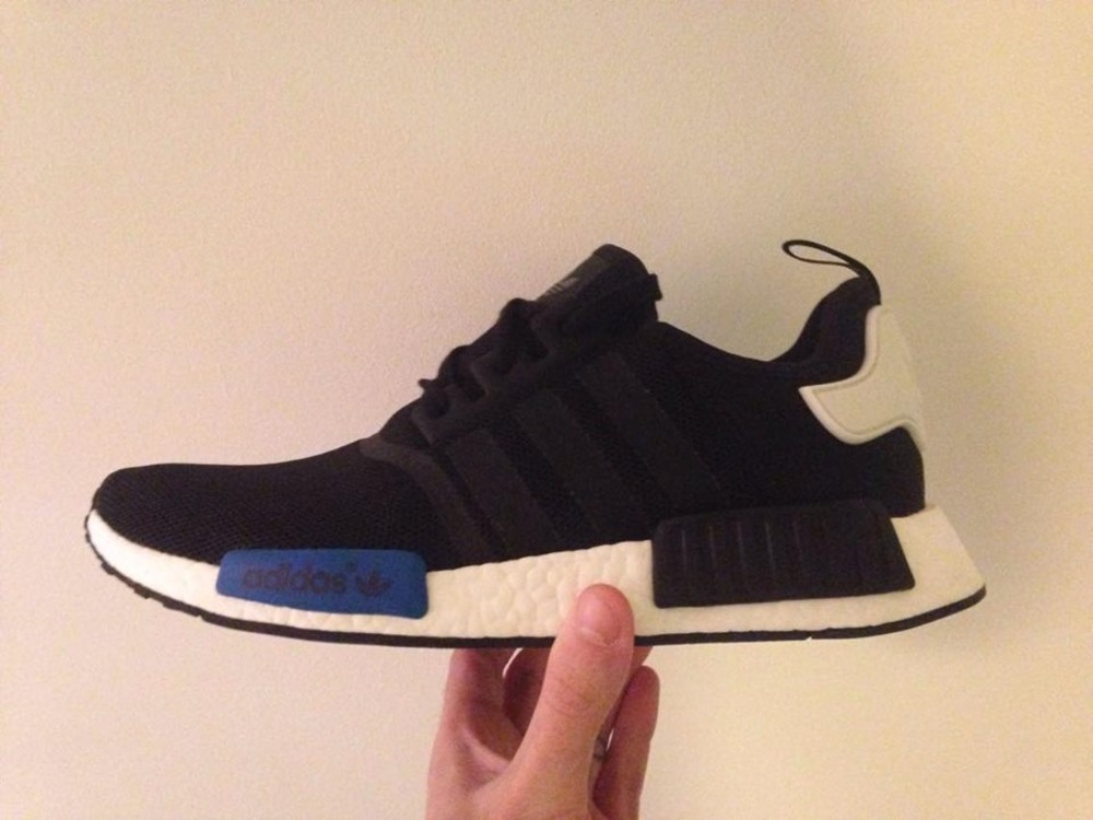 Authentic LV Louis Vuitton x Adidas NMD R1 Boost BA7257 Blue